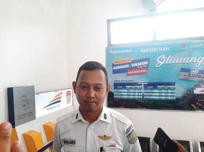 Jalur Cianjur Ciranjang Kembali Aktif Stasiun Padat Penumpang